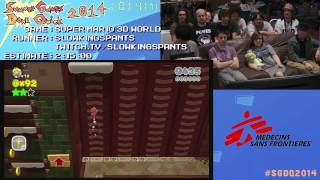 Summer Games Done Quick 2014 - Part 1 - Super Mario 3D World