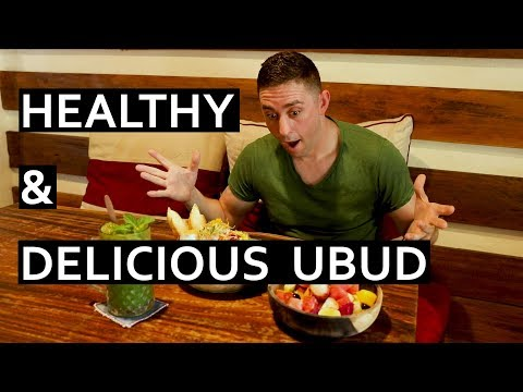 Best Healthy and Delicious Food in Ubud, Bali - Vegan and Vegetarian