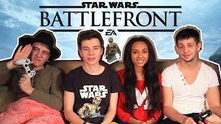 Играем с друзьями в STAR WARS Battlefront PS4 ★ СМОТРЕТЬ ВСЕМ