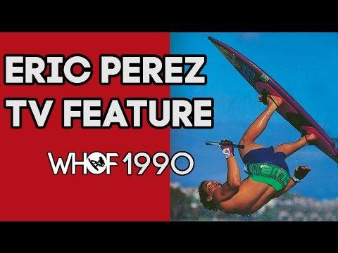 World Champion Eric Perez TV Interview. WHOF, 1990