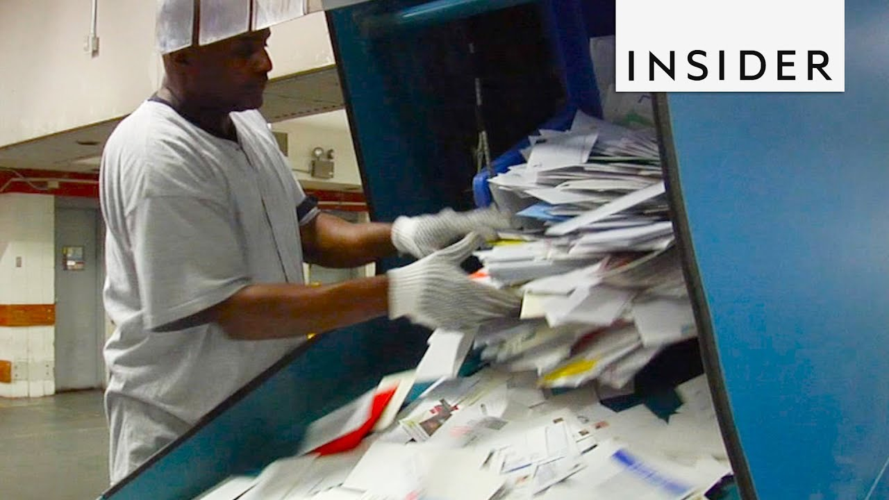 How USPS Sorts Mail