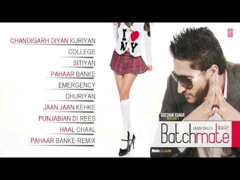 Jassi Gill : Batch Mate (Album) Full Songs | Jukebox | Hit Punjabi Songs