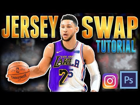 How To Do An NBA Jersey Swap For Instagram (Or Anything Else)