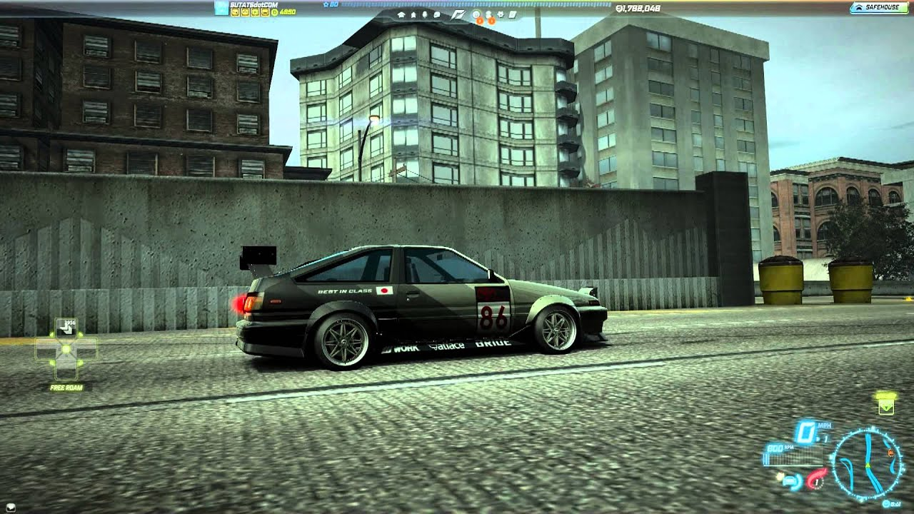 Need for speed world toyota corolla gt s ae86 c spec 23 july 2013