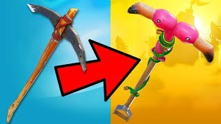 RANKING EVERY PICKAXE IN FORTNITE FROM WORST TO BEST!