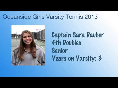 Oceanside High School Girls Varsity Tennis Media Guide 2013