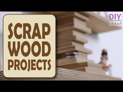 scrap-wood-projects-#4---plywood-shelf