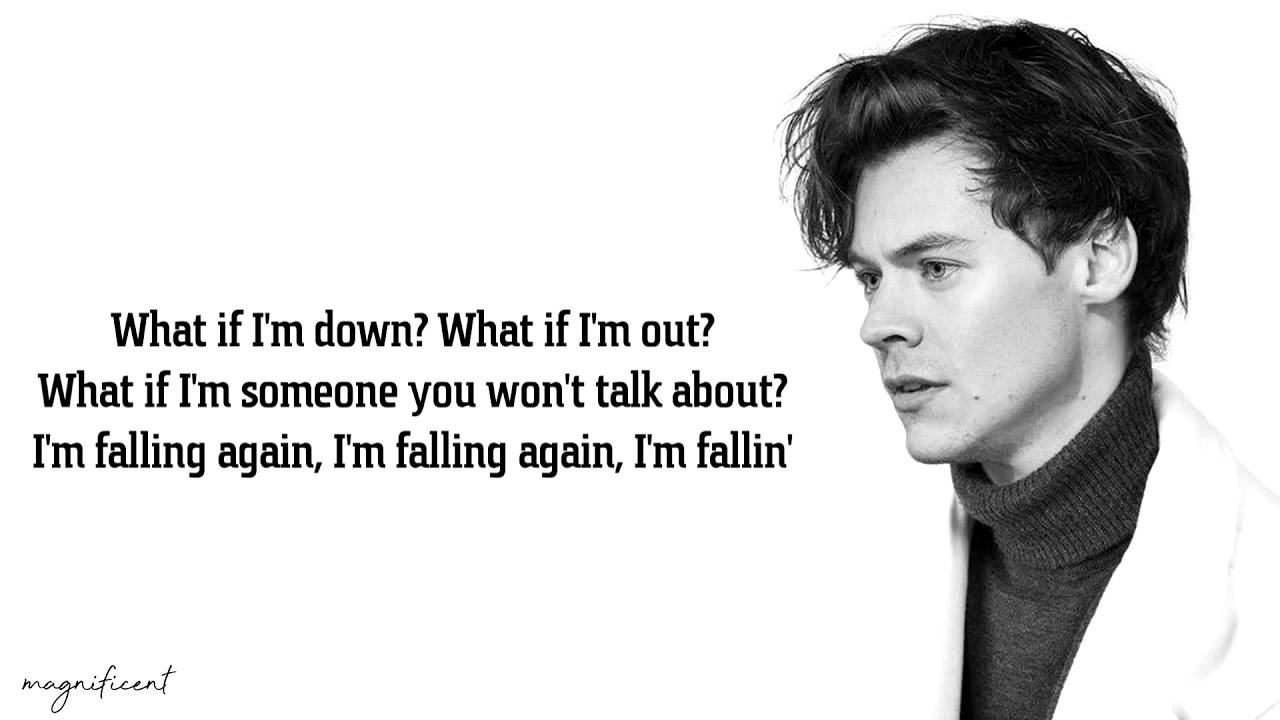 Harry Styles - Falling (Lyrics)