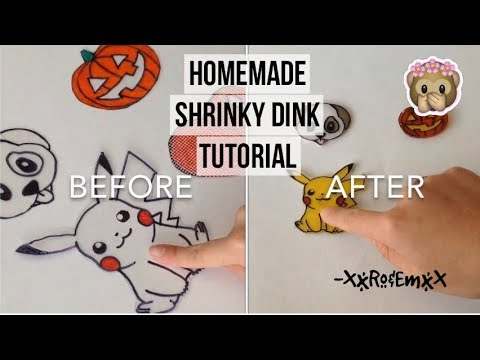 Homemade Shrinky Dink Tutorial How To Make Super Cute Charms