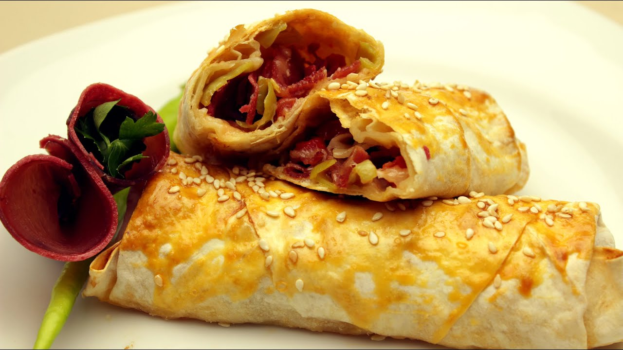 Pacanga borek recipe turkish pastry rolls with pastirma for Arda turkish cuisine