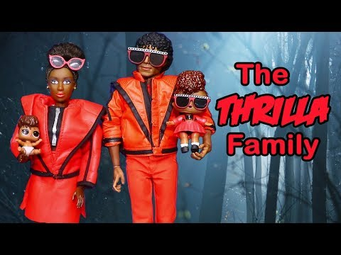 SWTAD LOL Families ! The Thrilla Family in Spooky Forest | Toys and Dolls Pretend Play for Kids