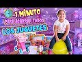 Download Video ¡1 MINUTO PARA AGARRAR TODOS LOS JUGUETES QUE QUIERA! - IvannaNana MP4,  Mp3,  Flv, 3GP & WebM gratis