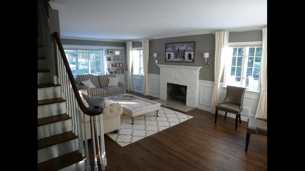 Colonial home renovation before and after youtube Home redesign
