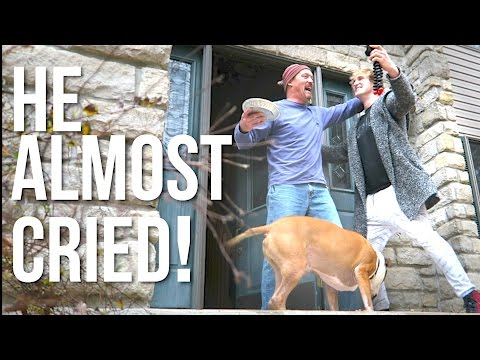 Thumbnail: SON SURPRISES DAD ON THANKSGIVING! (Real Reaction)