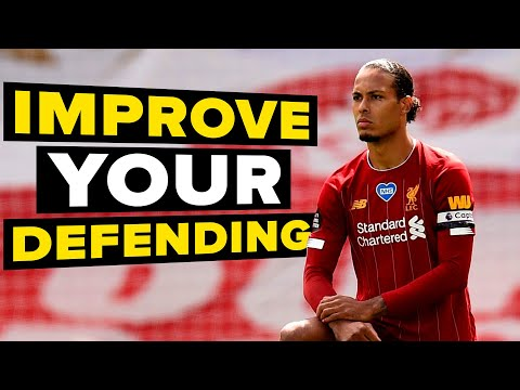 3 things to learn from van Dijk | Learn Defensive Skills