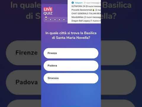 Soluzioni Domande Live Quiz Italia Venerdì 21 Dicembre Ed2100