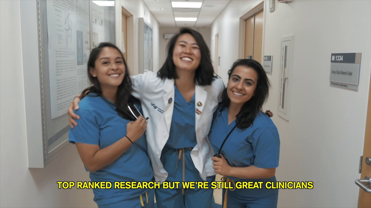 VIDEO: UCSF's new med students pay homage to Ariana Grande in music