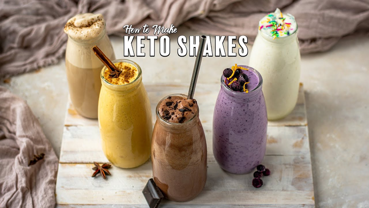 Download How to Make Keto Shakes - 5 Great Flavors!