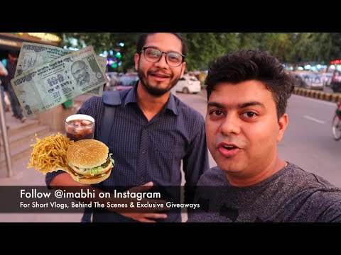 Vlog #36 100 Rupees Dinner or Lunch in Connaught Place | Gadgets To Use