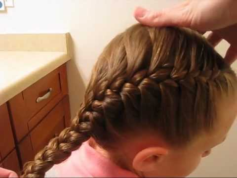 How To French Braid For Beginners Babesinhairland Com