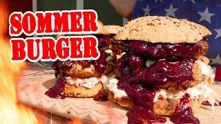 SOMMER BURGER - BBQ Grill Rezept Video - Die Grillshow 302