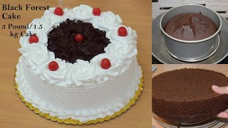 कढ़ई म बनय Black Forest Cake एकदम मरकट जस - 1500 क कक मतर 200 रपय म