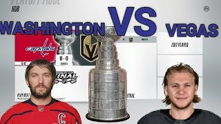 Vegas Golden Knights Vs Washington Capitals NHL 18 Simulation