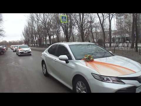 Свадебный кортеж Волгоград - прокат машин на свадьбу, аренда свадебных украшений на авто 89610908080