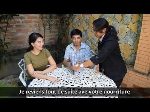 Au Restaurant/ En el restaurante