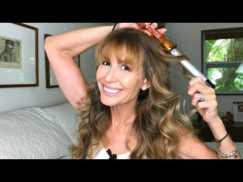 How I Create Soft Waves With A Curling Wand