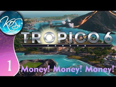Tropico 6 Ep 1: MOUNTAINS OF MONEY - Sandbox - Let's Play, Gameplay