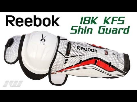 865786a5975 Reebok 18K KFS Hockey Shin Guards Review - YouTube