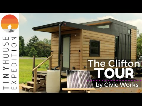 Energy Saving Tiny House Built by Baltimore Students