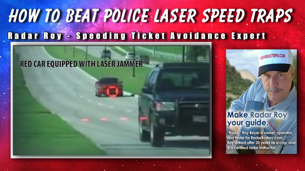 How to Use a Laser Jammer to Beat Speed Traps