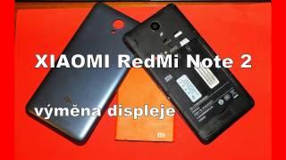 CZ Xiaomi RedMi Note 2 - výměna displeje