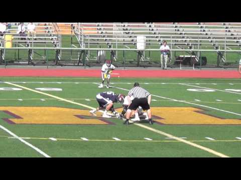 John Harkins Madison Lax Highlights 2014