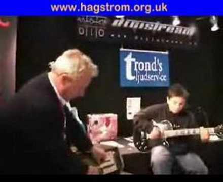 Hagstrom BT100 Amp Swede Guitar Demo
