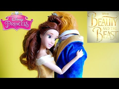 Beauty and the Beast Dance scene - Disney Princess Doll Belle and Prince