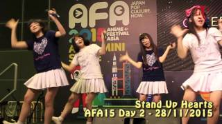 Stand Up Hearts AFA15 Day 2 performance Digest Stand Up Hearts シン...