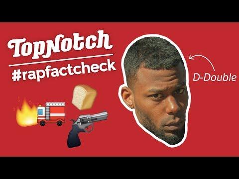 Welke RAPPER heeft een grotere GUN dan D-DOUBLE?  | #RAPFACTCHECK