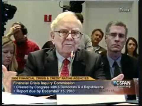 June 2, 2010 - Heather Murren, Financial Crisis Inquiry Commissioner Asks Warren Buffet A Question
