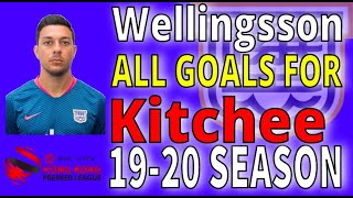 WELLINGSSON ALL GOALS FOR KITCHEE HKPL 19-20 (so far)
