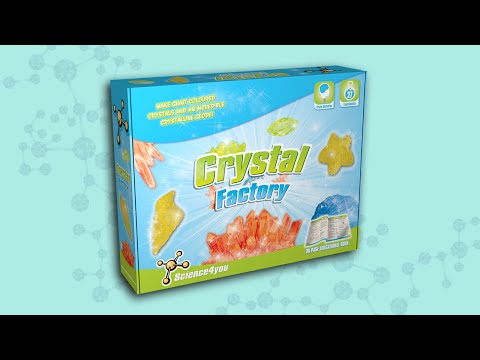 Science4you UK - Crystal Factory