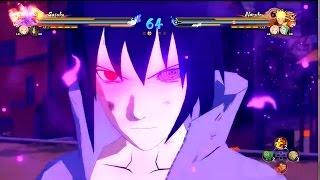Naruto Ultimate Ninja Storm 4 | Uchiha Sasuke Gameplay