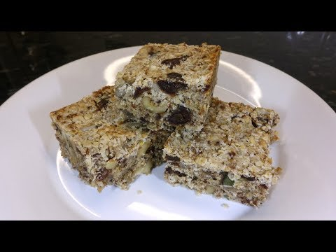 Breakfast Bars   Oats, Fruit & Nuts