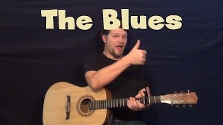 The Blues Primary 1 ftNina Persson Easy Guitar Lesson How to Play Tutorial