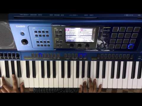 Bahubali Beginning  Theme Song On Keyboard