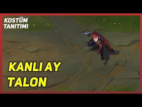 Kanlı Ay Talon (Kostüm Tanıtımı) League of Legends
