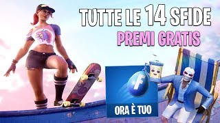 ALL 14 ESTIVE Challenges and FREE PREMIEs to Unlock! Fortnite, Fortnite