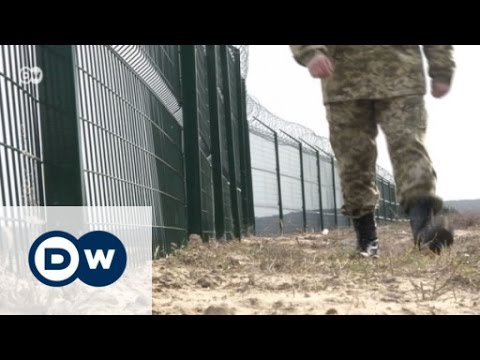 Ukraine: A wall along the Russian border | Focus on Europe